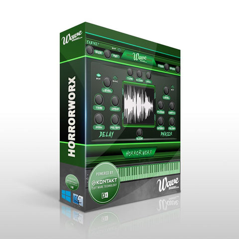 HorrorWorx (Kontakt Library) - 200 One-Shots & Instruments