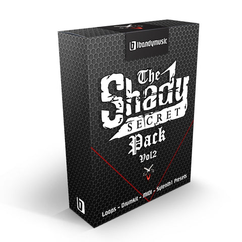 The Shady Secret Pack Vol.2 - Construction Kit, Drumkit & Sylenth Bank