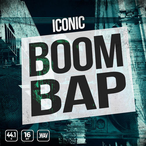 Iconic Boom Bap - 200 Drum One-Shots