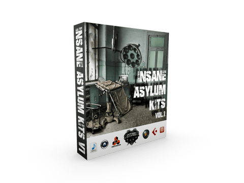 Insane Asylum Kits Vol.1 - Crazy Hip Hop Drums & Loops