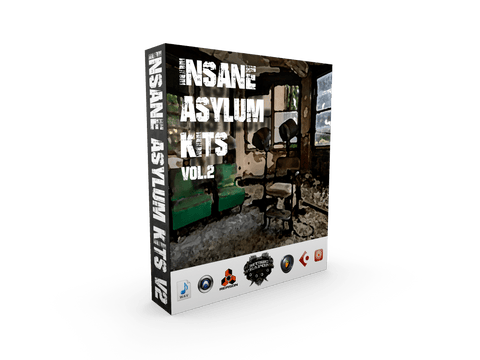 Insane Asylum Kits Vol.2 - Hip Hop Drums & Loops