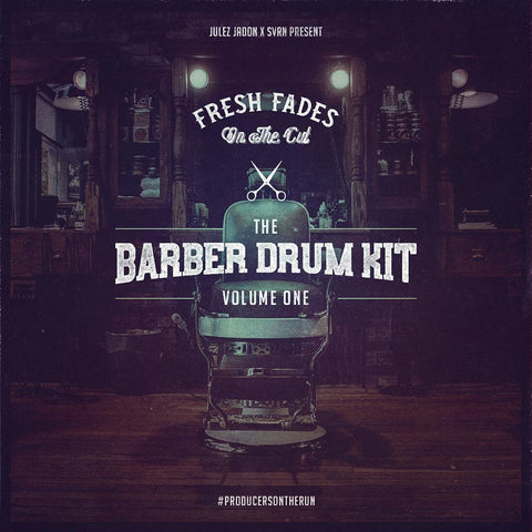 The Barber Drum Kit Vol.1 - Drum Samples, Loops & FX