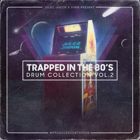 Trapped In The 80s Vol.2 - Drums, Vocals & Synth One-Shots