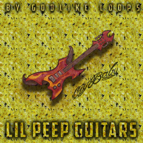 Lil Peep Guitars - Electric Guitar Loops