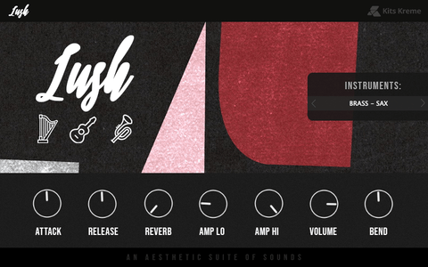 Lush VST - 100 Organic Preset Sounds