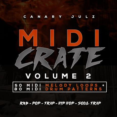 MIDI Crate Vol.2 - MIDI Melody & Drum Loops