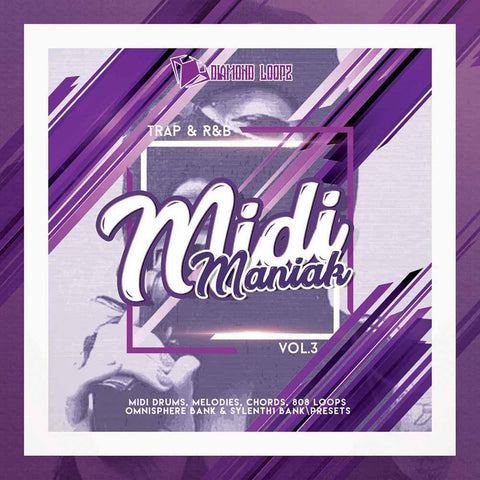 MIDI Maniak Vol.3 - MIDI Melodies, Chords & Drum Loops