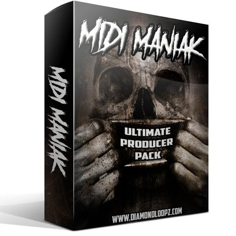 MIDI Maniak - 360 MIDI Files & Loops