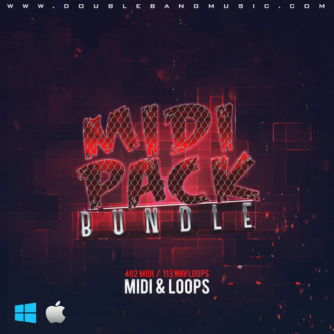MIDI Pack Bundle - 380 MIDI + WAV Files