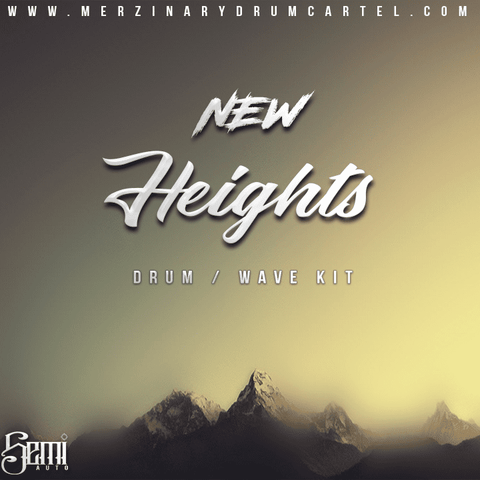 New Heights - Drum Kit + WAV Loops