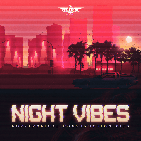 Night Vibes - Beats with Trackouts & MIDI Files