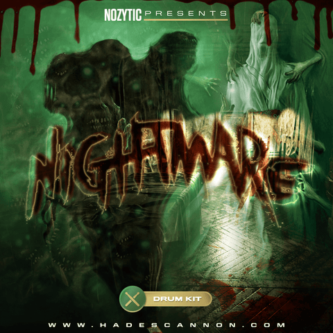Nightmare Drum Kit - 70 HQ Drum Samples