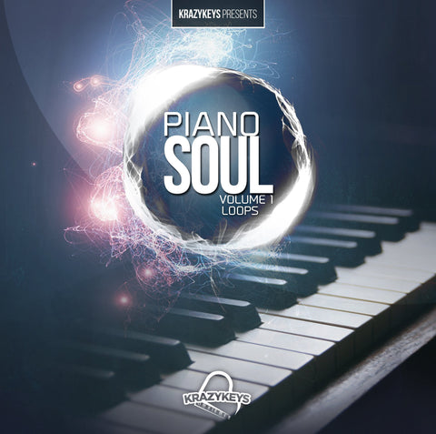 Piano Soul Vol.1 (Loop Pack) - Royalty-Free Piano Samples