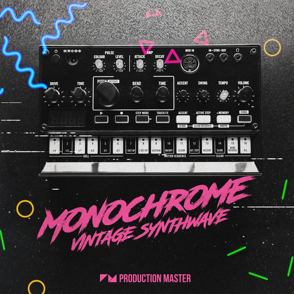 Monochrome: Vintage Synthwave