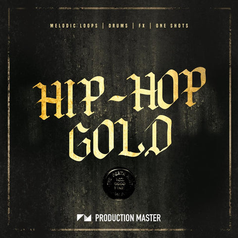 Hip-Hop Gold - Loops, One-Shots & MIDI