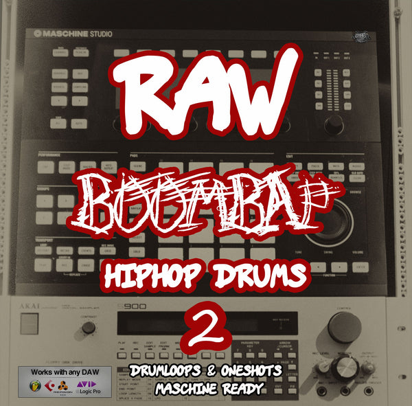 Raw BoomBap HipHop Drums Vol.2