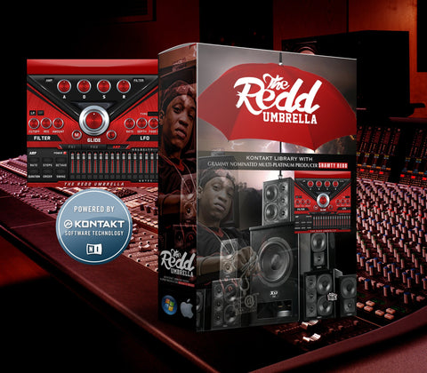 The Redd Umbrella Kontakt Library - Exclusive Shawty Redd Presets