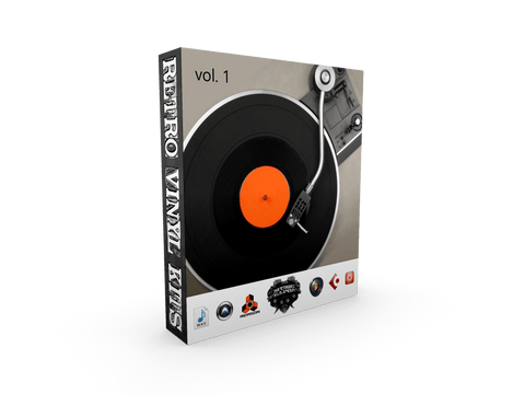 Retro Vinyl Kits - Drum One-Shots