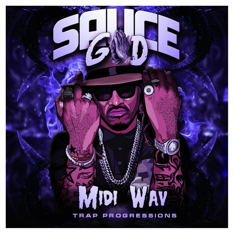 Sauce God - MIDI & WAV Melodies for Hip Hop, Trap & RnB