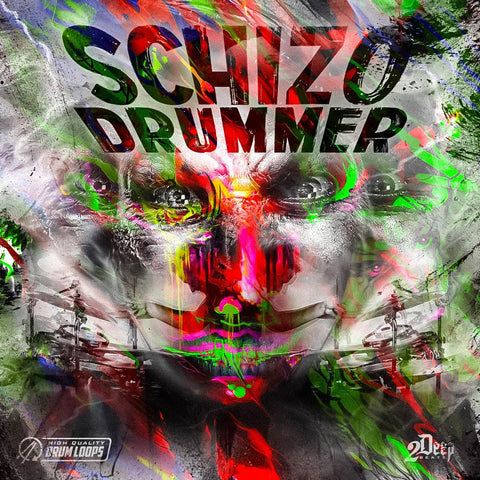 Schizo Drummer - Drum Loops for Hip Hop