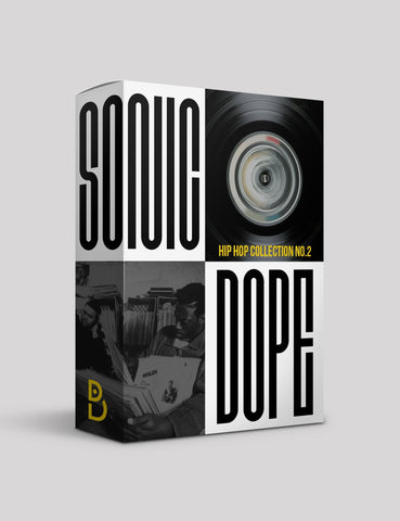 Sonic Dope: Hip Hop Collection 2 - Drum Kit & Beat Stems