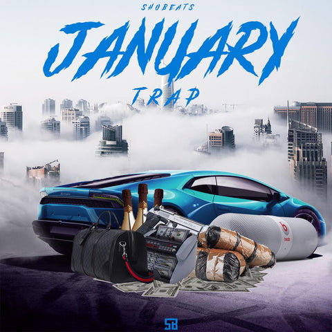 JANUARY TRAP - Trap Kits, MIDI Loops & Presets