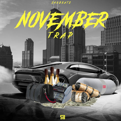 NOVEMBER TRAP - Trap Beats Kits