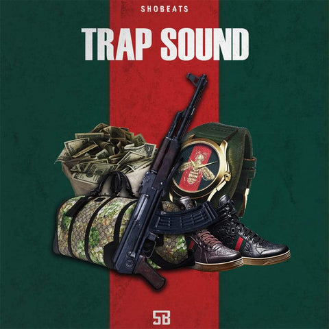 TRAP SOUND - WAV, MIDI, One-Shots & Presets