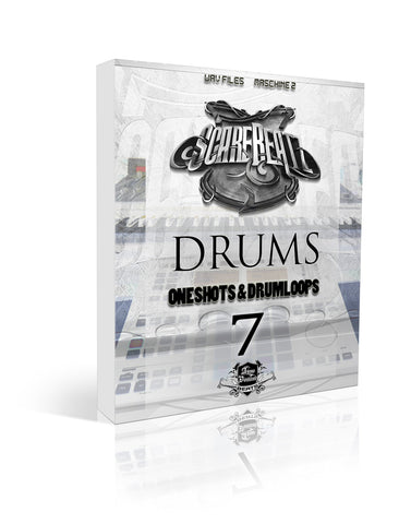 Scarebeatz Drums Vol.7 - Loops, One-Shots & Maschine 2 Drum Groups