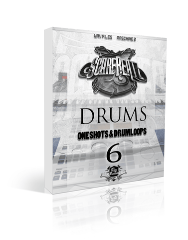 Scarebeatz Drums Vol.6 - Drum Loops & One-Shots + Maschine