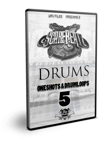 Scarebeatz Drums Vol.5 - One-Shots & Drum Loops