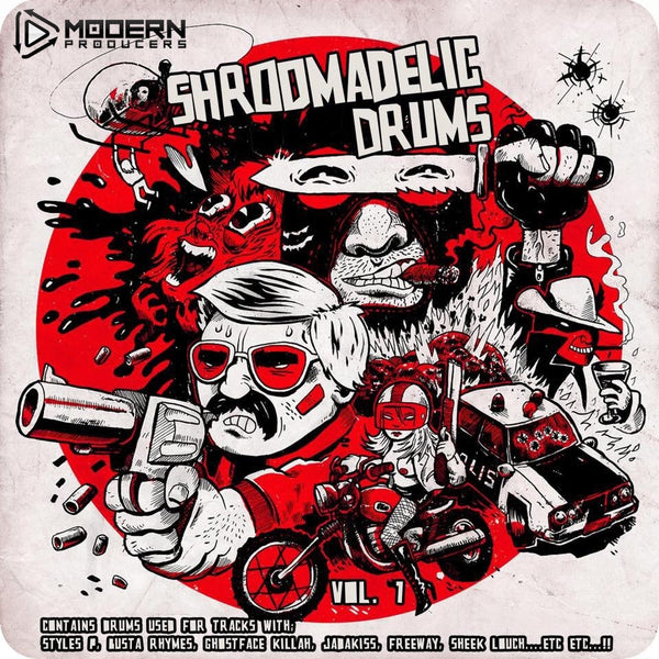 Shroomadelic Drums Vol.1
