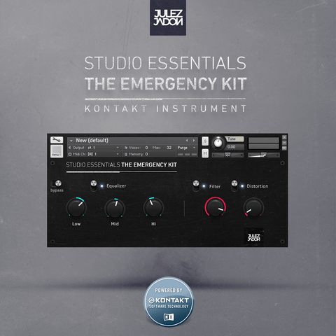 Studio Essentials: The Emergency Kit (Kontakt Library)