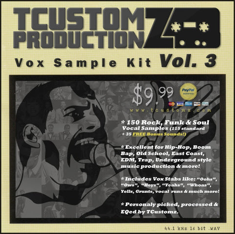 Vox Sample Kit Vol.3