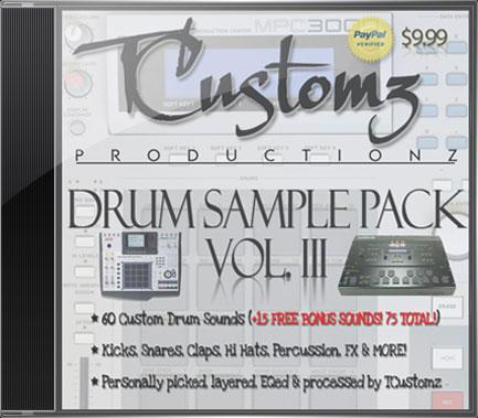 drum sample pack vol 3 hip hop drums modern producers. Black Bedroom Furniture Sets. Home Design Ideas