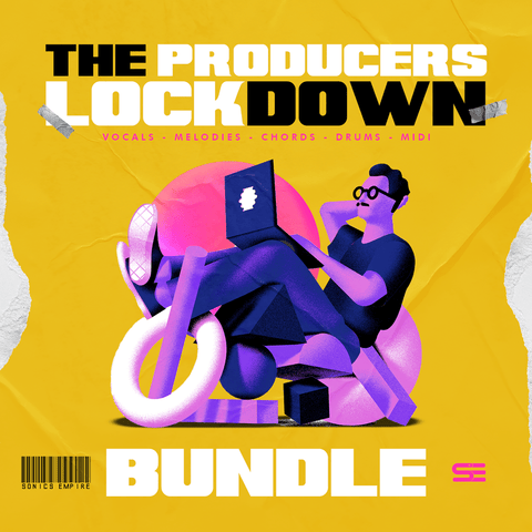 Producers Lockdown Bundle - 808 Files / 2.75 GB of Content