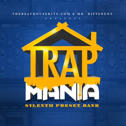 Trap Mania Sylenth Preset Bank