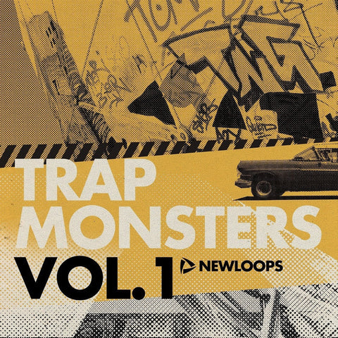 Trap Monsters Vol.1 (WAV, Ableton Live & Reason ReFill)
