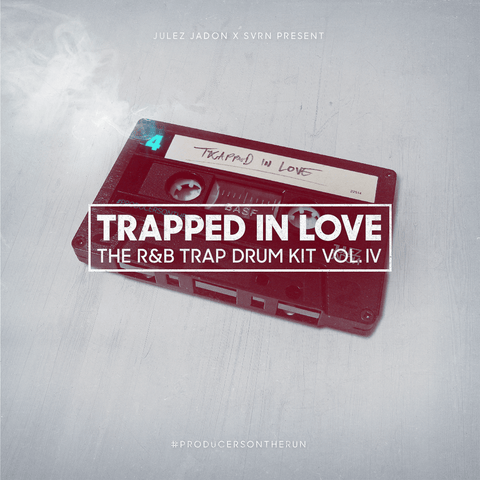 Trapped In Love: The RnB Trap Drum Kit Vol.4 - Julez Jadon