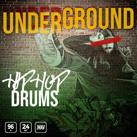 Underground Hip Hop Drums - 300+ Files