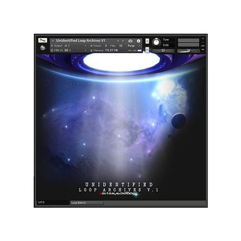 Unidentified Loop Archives (Kontakt Library)