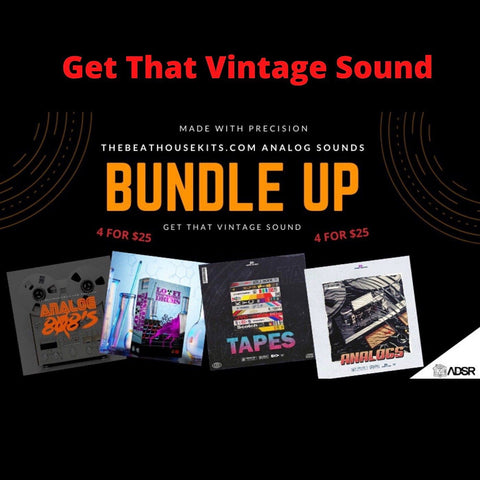 Analog Vintage Sound Bundle - 4 Kits in 1