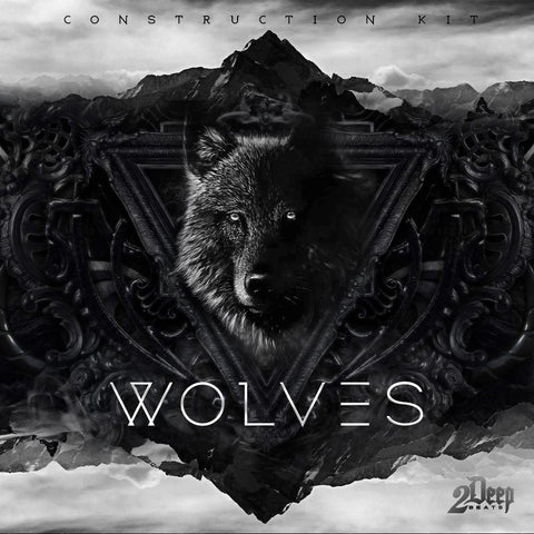 Wolves (Construction Kits with Hook)