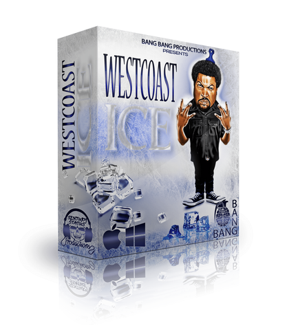 WestCoast Ice - Beat Kit with WAV & MIDI Files