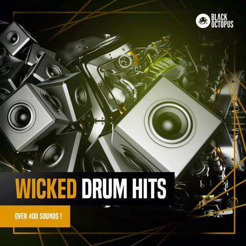 Wicked Drum Hits - 425 Drum One-Shots