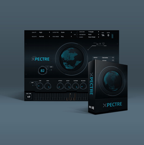 Xpectre VST - 185 Custom Instruments