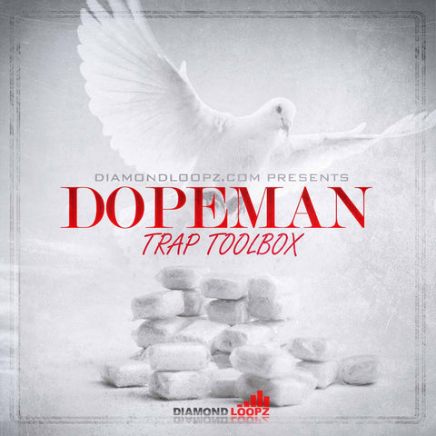 Dopeman Trap Toolbox - Drums, Presets & Loops