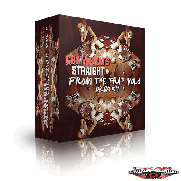 C-Ram Beats Straight From The Trap Drum Kit Vol. 1