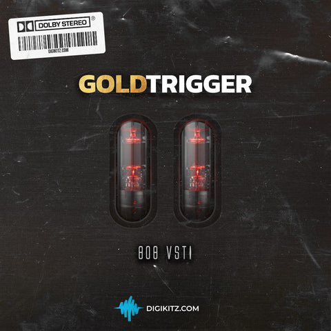 Gold Trigger VST - Custom 808 Plugin