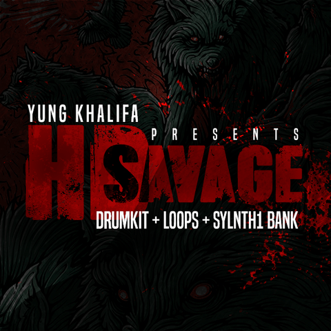 HD Savage (Drumkit, Loops & Sylenth1 Bank)